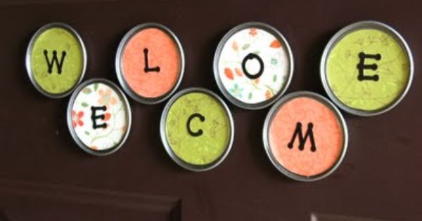 Lid magnets - Simple Handmade Gifts – Part Two | One Good