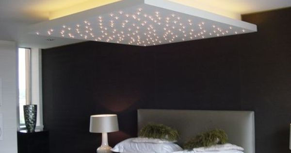 Over offices but hanging from chain 4 or 6 pot lights project inspiration pinterest - Deco entreehal ...