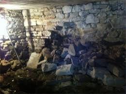Crumbling Mortar In Stone Foundation Walls And How We Fix It Waterproofing Basement Basement Repair Foundation Repair