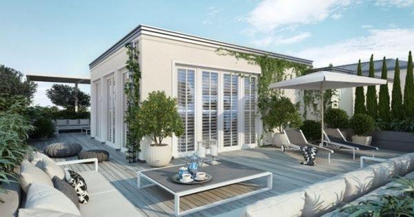 traumhafte dachterrasse mit blick über berlin-3d projekt für, Innenarchitektur ideen