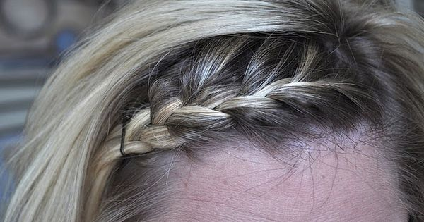 braided bangs tutorial - photo #19