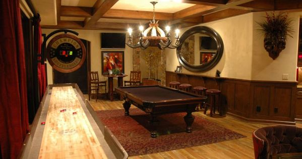 Design The Best Man Cave Ever Tuscan Style Pool Table