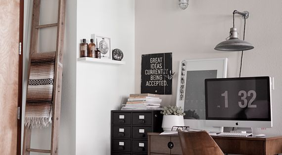 Interior | Home Office- home office work space