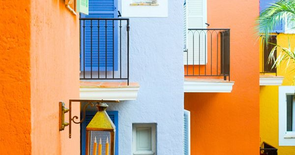 Colourful Saint Tropez, French Riviera