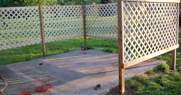 Diy Fence Ideas Cheap Privacy Screens Garden Trellis