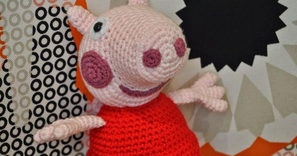 Peppa Pig Amigurumi Taller De Mao : Peppa Pig la Cerdita Amigurumi - Patron Gratis en Espanol ...