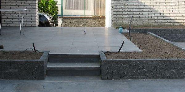 Verwerking my dreamed garden pinterest terras stenen en tuin - Decoratie stenen tuin ...