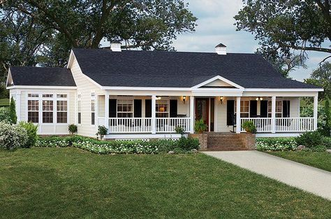 Renovation Ideas For 1985 Ranch Style House With Gable Roof