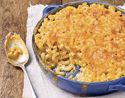 Classic Baked Macaroni and Cheese | MyRecipes.com made for superbowl. I used