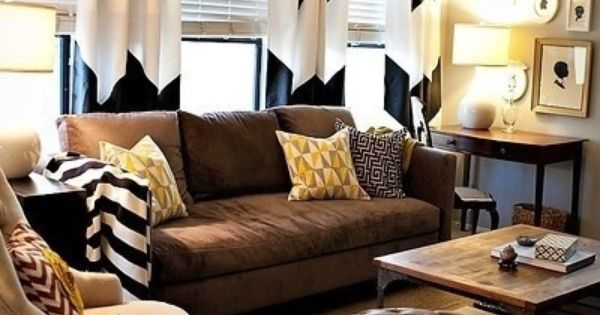Navy, cream, gray, molasses. Love these colors with some coral and gold accents. | Home Living ...