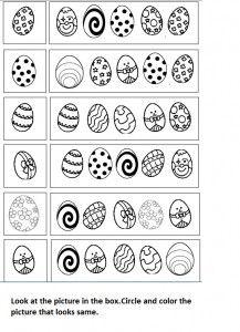 Easter Worksheet For Kid Easter Worksheets Easter Kindergarten Easter Preschool Kindergarten worksheets easter