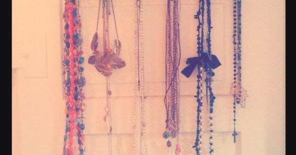 clothing racks necklace holder and clothing on pinterest