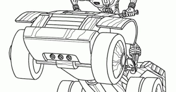 Power Rangers SPD Riding A Motorcycle Coloring Page
