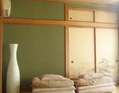 Zen Minimalist Japanese Futon Sleep Bedroom Clean Green