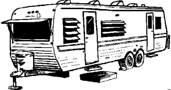 Wohnwagen Stehend Ausmalbild Malvorlage Die Weite Welt Wohnwagen Ausmalen Malvorlagen