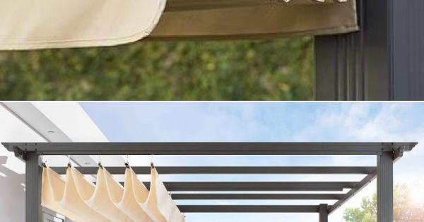 Diy Pergola Retractable Roof Shade Http Www Uk