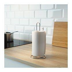 Torkad Kitchen Roll Holder Silver Colour Paper Towel Holder