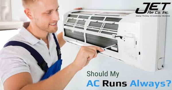 There Are Many People Who Think That Ac Should Run Always But