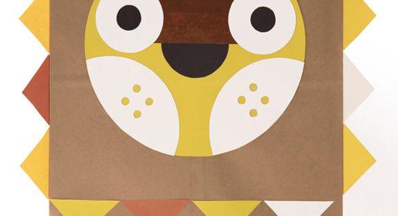 DIY Paper Bag Costume, The Jovial Jack O' Lantern - download the
