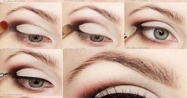 Day Makeup, Make Up, Beautiful, Eyeshadows, Eyemakeup, Eye Liner, Smokey Eye, Green