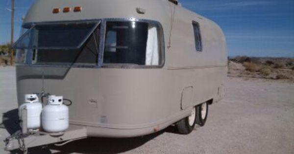 Vintage Airstream Argosy 5700 00 Obo Craigslist Vintage Campers