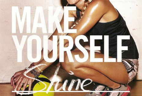 shine, from the inside out! fitness motivation