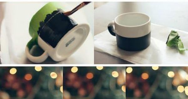 Chalkboard Mug. Could this be any more easy and smart!! I have