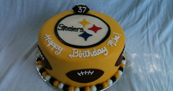 The Ultimate Steelers Cake Football NFL