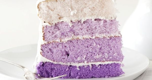 Purple Ombre Layer Cake Purple Ombre Layer Cake