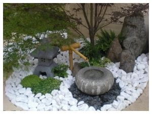 jardin japonais miniature zen garden