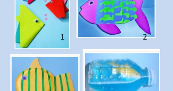 Fun Fish Craft Activities for Kids | Ocean Theme | Pinterest | Fish crafts, Craft activities and ...