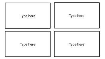 Editable Flashcard Template Flashcards Kids Learning Activities Templates