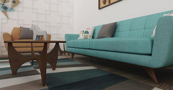 Hughes Sofa Custom Image Living Room 2014