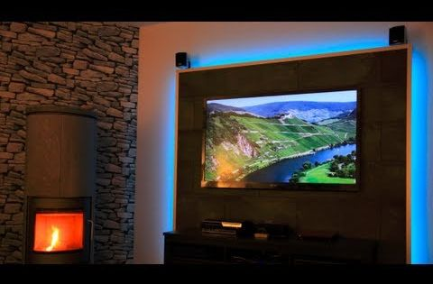 how to make lighted floating wall panels season 1 ep 10 youtube backlit panel. Black Bedroom Furniture Sets. Home Design Ideas