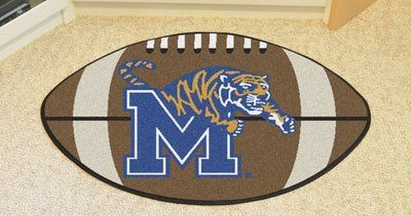 Fanmats Ncaa University Of Memphis Football Doormat Football Rug Floor Rugs Mat Rugs