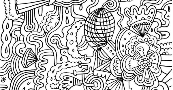 Challenging Coloring Pages for Adults Enjoy Coloring