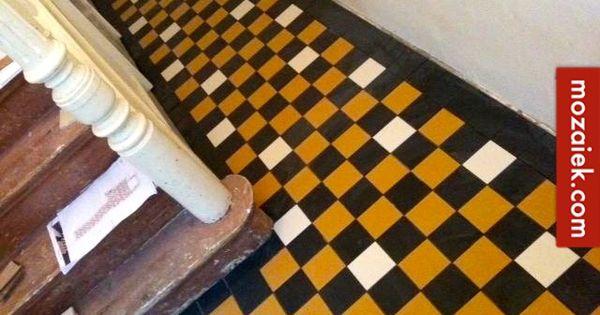 Ontwerp tegelvloer gang en toilet jaren 30 woning amersfoort dit ontwerp voor een tegelvloer is - Verf een ingang en een gang ...