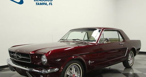 Ebay 1965 Ford Mustang How Quality Paint Thousands In Receipts 289 V8 Auto Ps Ac Nice Interior Fordmustang Ford Ford Mustang Mustang Classic Mustang