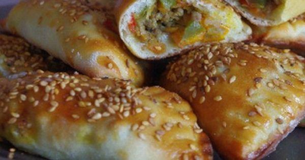 Chaussons sal es sans p te feuillet e blog cuisine - Cuisine orientale blog ...