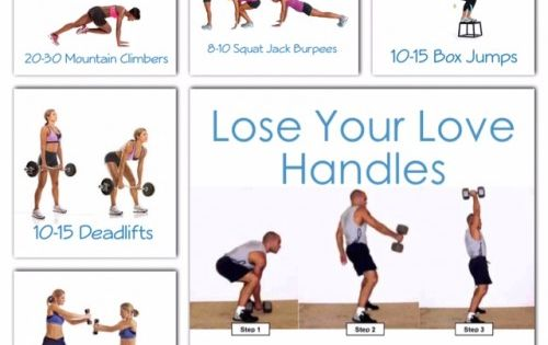 Try These Oblique-targeting Exercises To Lose Your Love