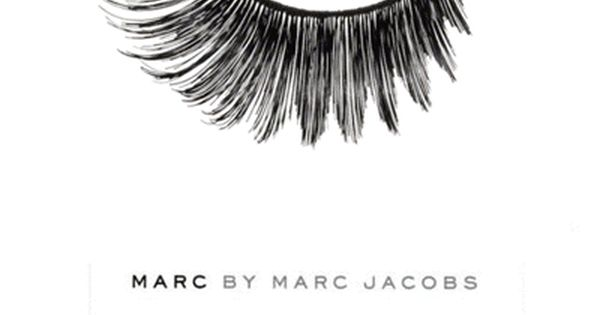 Marc Jacobs eyelash illustration.
