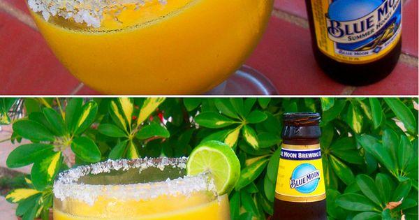 Moonarita a.k.a. Blue Moon Mango Margarita - Mango margarita mix (use a