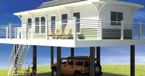 Beach house floor plans on stilts home designs fans for Small beach house on stilts