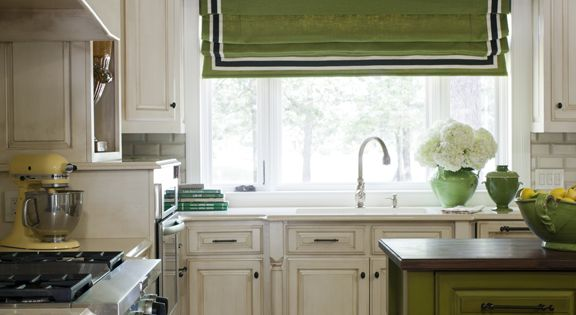 kitchen window treatment