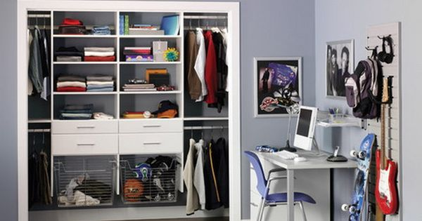 Cool Teen Boys Closet Design Teenage Bedroom Arranging