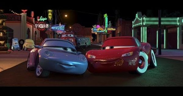 Sally Carrera Makes Out With Lightning Mcqueen Hd Youtube Disney Cars Movie Lightning Mcqueen Disney Cars Party