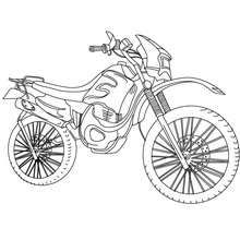 Trail Coloring Page Coloring Page Transportation Coloring Pages Motorcycle Coloring Pages Coloring Pages Bike Sketch Coloring Pictures