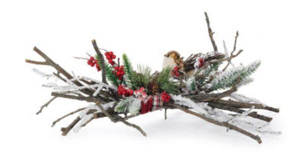 Cedar Lodge Bird And Branch Mantel Piece Michaelsstores