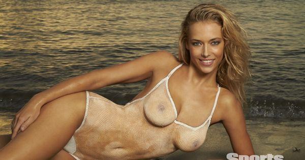 Hannah Ferguson S Body Paint