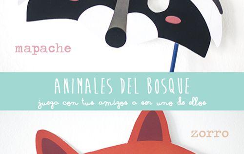 foto cabecera1 Máscaras de animales para descargar e imprimir gratis